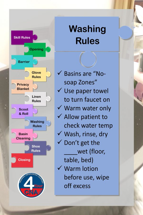 Washing Rules banner